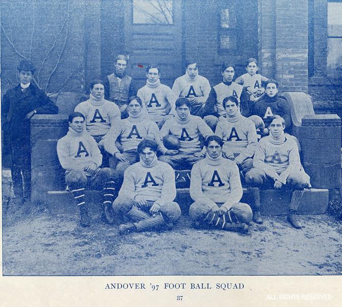 The 1897 Andover football team.