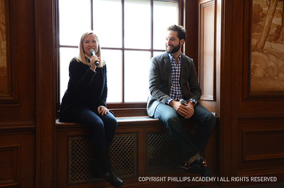 A conversation with Jessica Livingston '89 and Alexis Ohanian