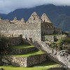 House structures at Machu Picchu