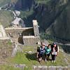 Amy '14, Janani '14, and Alex '15 atop Wayna Picchu.