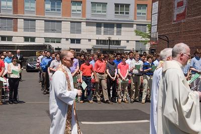 2015 Ascension Thursday Mass