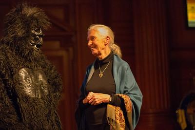 Dr. Jane Goodall at Andover
