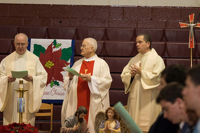 Advent/Christmas Mass 2012
