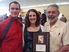 Carl Chandler '11, Claire Dille '11 (Hunger Coalition Coordinators), & Dr. Richard Coronado (Hunger Coalition Moderator)