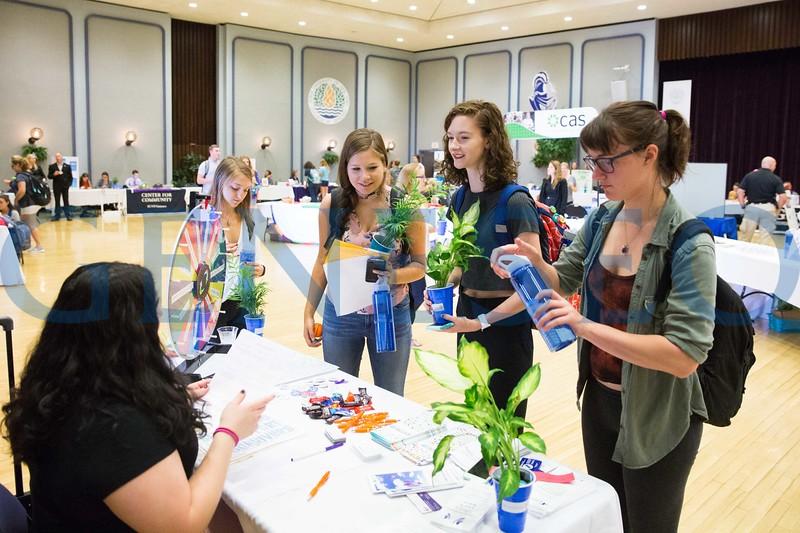 Fall 2017 Health and Wellness Fair Expo College Union Ballroom KW