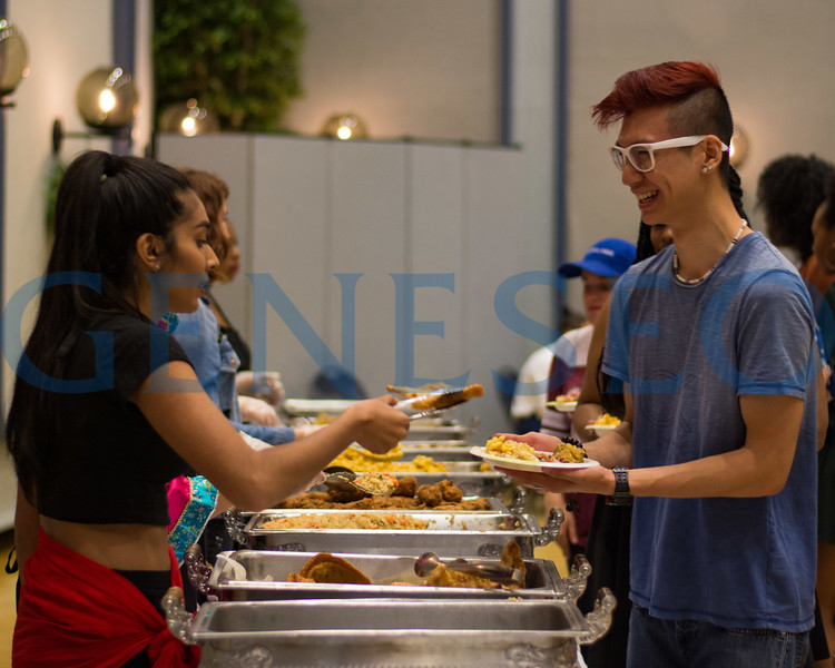 Fall 2017 multicultural dinner photos by Theo Liu