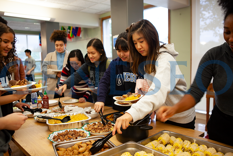 Diversity Potluck Dinner in Global House & Food Culture House (housed in Wyoming Hall) on October 13 at 5:30 pm. Residents cooking ethnic dishes for participants to sample.  During the event, there will be international trivia and a team-oriented game.