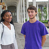 Living Learning Community students, Miriam Joseph and Joe Carrino will be participating in the LLC Community Service Weekend.  Photos: Mark Schmidt