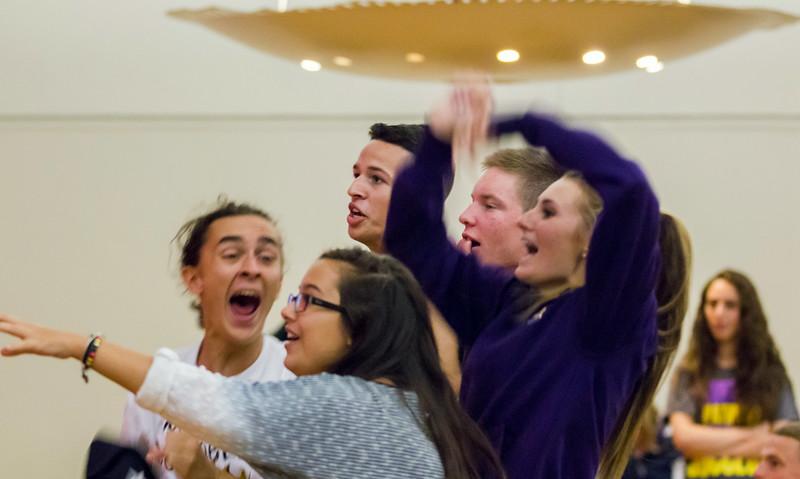 New Great Danes take part in summer orientation.  Photographer: Bill Pyke