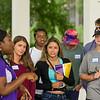 New Great Danes take part in summer orientation.  Photographer: Bill Pyke