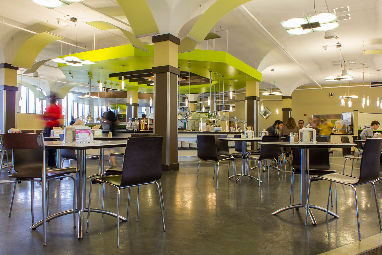 Picture of the State Quad Dining Hall