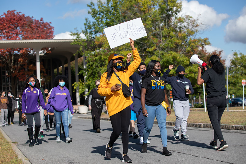 UAlbany student Black Lives Matter march