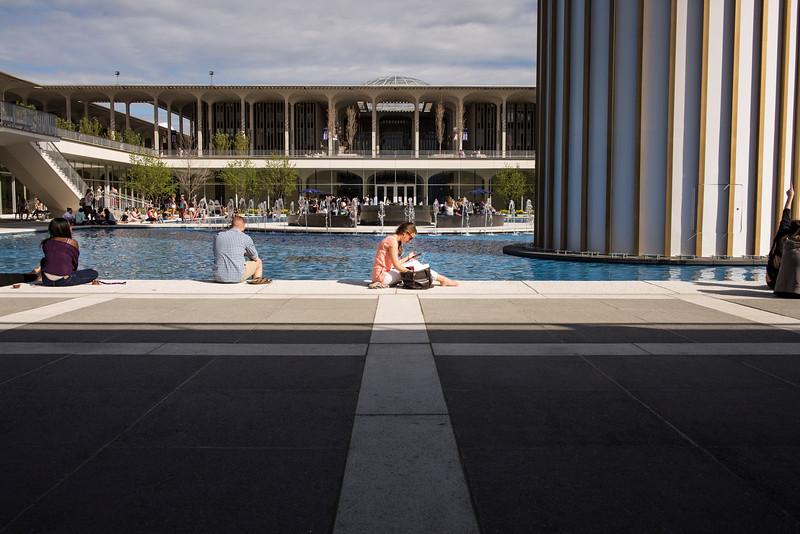 Student Life - Main Fountain