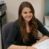 Elizabeth Skovron, '15 (Tarrytown, N.Y.), completing an internship through the Town of Greenburgh.