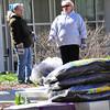 Campus Clean-up Day 2014 President Jones photo:Mark Schmidt