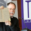 "November 2012 - The University at Albany Libraries acquires the papers of alumnus and Albany native Gregory Maguire '76, the best-selling author of Wicked: The Life and Times of the Wicked Witch of the West, which spawned the smash Broadway musical ""Wicked.""<br /> Photographer: Mark Schmidt"