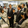 July 2012 - Governor Andrew Cuomo tours UAlbany's Cancer Research Center on the East Campus.<br /> Photographer: Mark Schmidt