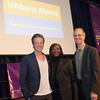 October 2012 - Actor Ashton Holmes '02, Dr. Carolyn Grosvenor '06, and Author/former New York Times ethicist Randy Cohen '71 headline our annual 'Reaching Higher, Achieving More' Alumni luncheon.<br /> Photographer: Mark Schmidt