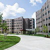 August 2012 - The University at Albany officially opens Liberty Terrace, a new 500-bed, environmentally sustainable student housing complex.<br /> Photographer: Mark Schmidt