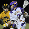 May 2013 - The men's lacrosse team defeats UMBC in the America East Conference Championship with an overall record of 13-4 and earned an appearance in the 2013 NCAA Tournament.<br /> Photo courtesy UAlbany Athletics