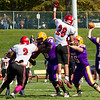 October 2012 - Over Homecoming Weekend, the Great Danes soundly defeat St. Francis 36-13.  The football team earned its sixth NEC title.<br /> Photographer: Paul Miller