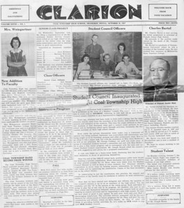 (October 25, 1957) Page 1.