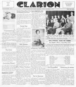 (November 26, 1958) Page 1.