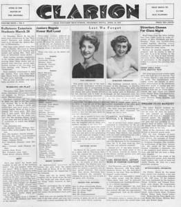 (April 18, 1957) Page 1.