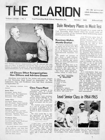 (October 1964) Page 1.