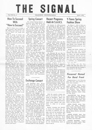 (April 1972, Page 1)