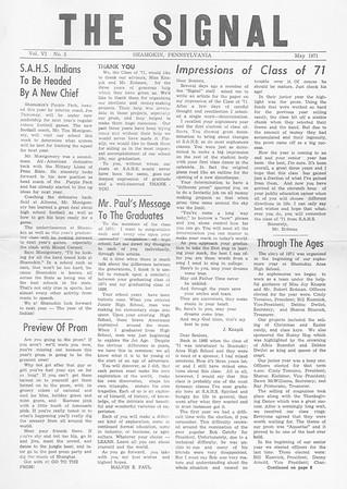 (May 1971, Page 1)