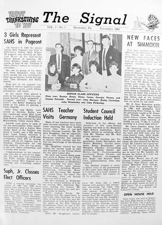 (November 1965) Page 1.
