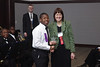Darien Toms received an award for the outstanding soloist of the band.