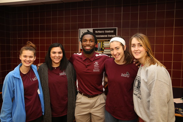 McMurry Student Government Forum