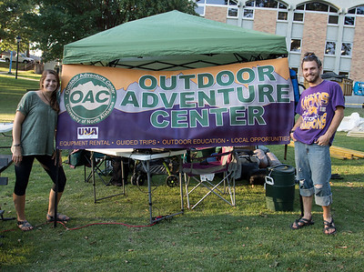 Alternative Breaks Trip launch and  OAC'S Camping on Campus