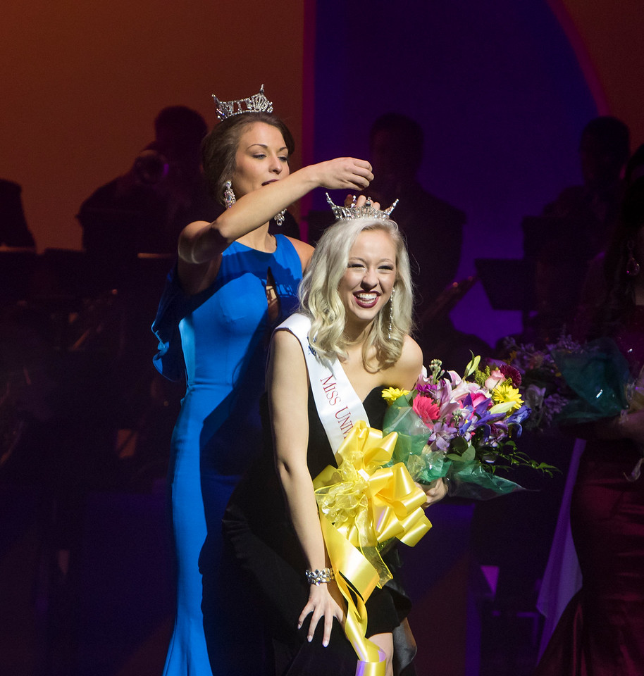 Haley Gilbertson Crowned Miss UNA 2018