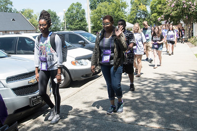 SOAR tours introduce prospective students and their parents to campus life.