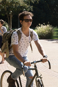 Students around Campus