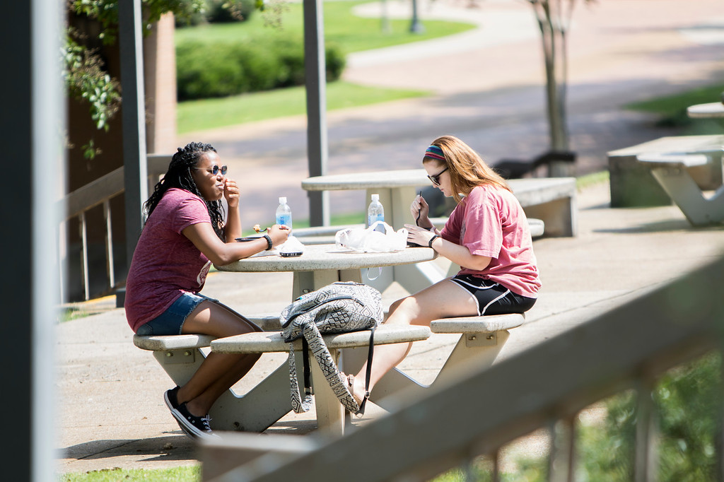 Students around Campus