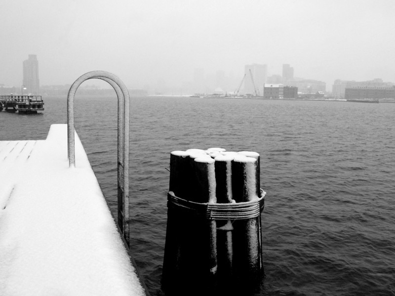 At Tide Point in a Snowstorm<br /> <br /> December 5, 2007<br /> <br /> Baltimore, MD