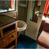 Adirondacks North Creek NY Abandoned Train 7 Bedroom of Sleeper Car May 2016