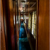 Adirondacks North Creek NY Abandoned Train 14 Hallway of Sleeper Car May 2016