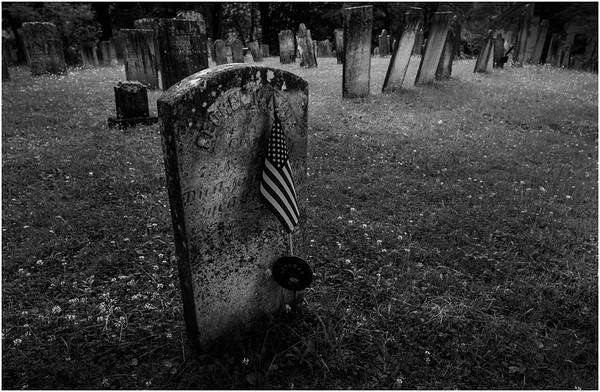 Rensselearville NY Cemetery 19 BW June 2016