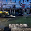 Portland Maine Wharf Scene 5 March 2017
