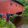 Vermont Arlington Covered Bridge 2 August 2009