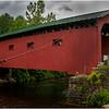 Vermont Arlington Covered Bridge 1 August 2009