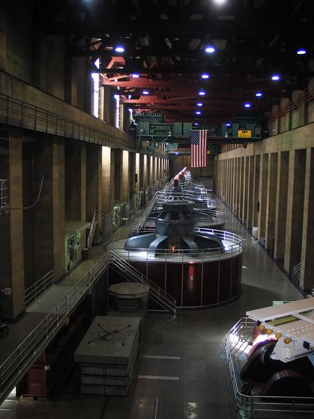 Nevada Hoover Dam February 2007 Interior Works