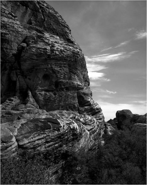 Mojave Desert California 2007 Rock Formation 2
