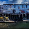 Portland Maine Wharf Scene 6 March 2017