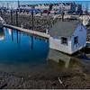 Portland Maine Wharf Scene 4 March 2017